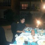 special dinner with Ishani