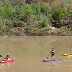 Friendly people on the Colorado River