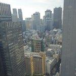新都心方面の眺望