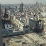 新宿駅南口の眺望