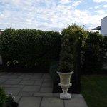 Patio garden at Casa del Mare