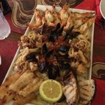 Seafood platter per due persone