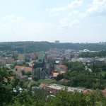view to the south west (Mendlovo namesti & brewery Starobrno)