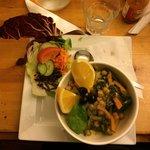 Levantine couscous dish