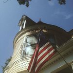 C.W. Worth House on the Fourth of July