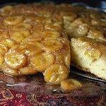Banana Pecan Upside Down Pancake