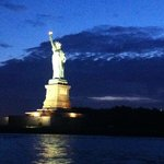 Statue of Liberty by night