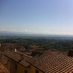 The view on Valdichiana from all the rooms