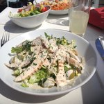 Chicken Caesar Salad and Lasagne