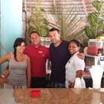 William, Yahaira & Cesar friendliest and best bartenders in Majestic Elegance Punta Cana!