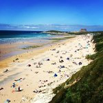 fistral beach july 2014