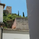 Alhambra from our living room window
