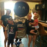 York Peppermint Patty visits Hershey lodge
