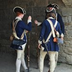 soldiers at Fort Ticonderoga