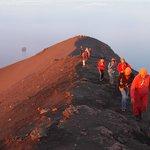 il vulcano a piedi Stromboli