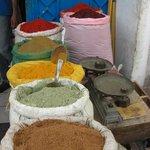 spezie al mercato