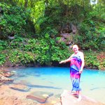 At the Blue Hole