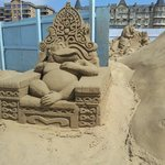 Weston Sand Sculptures