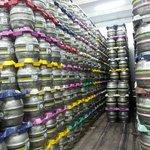 Amazing amounts of beer!