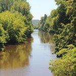 The river (2 min walk)