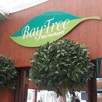 Entrance to Bay Tree Cafe.