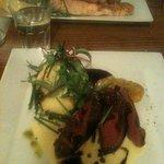 salmon y reno