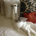 Turn Down Service...hey those are my glasses!! :)
