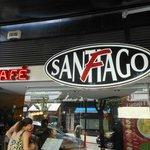 Buitengevel van Café Santiago
