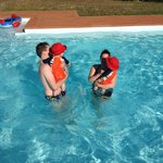 Ruhe am Swimming Pool
