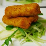 Smoked fish croquettes