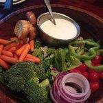 My bottomless salad for soup and salad