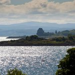 View from hotel bedroom to Duart Castle