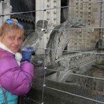 mucho frió en Notre Dame