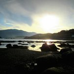Amazing sunset at Norris Point