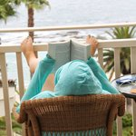 Lanai is perfect reading location