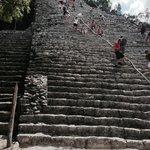 Climbing Nohuch Mul - Coba