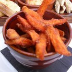 sweet potato chips to die for!