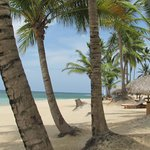 Beach to the right of our palapa