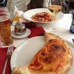 Calzone & Thunfischsalat