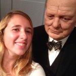 Selfie met Churchil