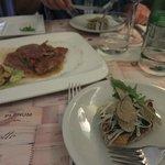 Bruschetta + Saltimbocca