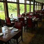 Black Bass Main Dining Room - Delaware River View