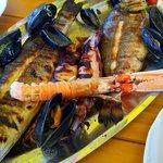 Piatto di pesce per due persone