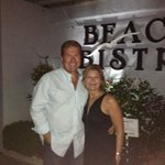 Excellent dinner at Beach Bistro (across the parking lot)