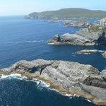 Kerry cliffs in the summer sun