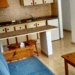 appartement espace cuisine et salon