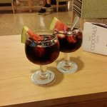 super sangria al bar dell'hotel perla!