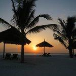 tramonto da spiaggia hotel