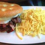 Mmmhhh... le burger!