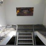 Ruime trappenhal Kyriad Orance Centre Hotel